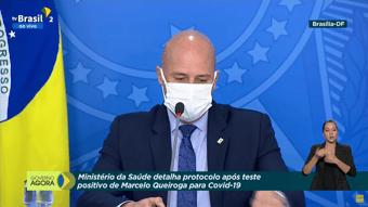 IMAGEM: Secom: Bolsonaro ficará em isolamento até sábado