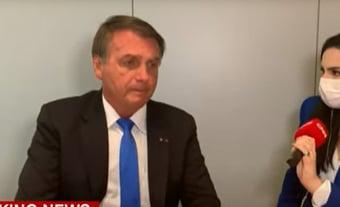 """IMAGEM: Bolsonaro volta a criticar passaporte da vacina: """"Quem não quiser não toma"""""""
