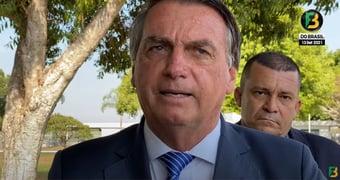 """IMAGEM: Bolsonaro promete 'live' na fronteira com Venezuela: """"Quero mostrar o pessoal vindo para cá"""""""