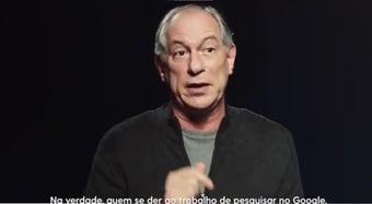 IMAGEM: Ciro tenta explicar fala machista sobre Patrícia Pillar