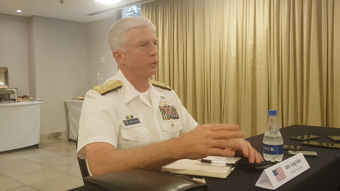 IMAGEM: Chefe do Comando Sul dos EUA diz que militares brasileiros são apartidários e têm compromisso com Constituição