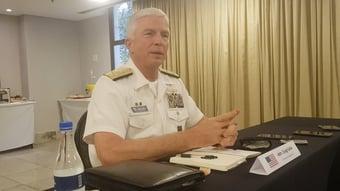 IMAGEM: Almirante dos EUA: tornar-se parceiro da Otan só depende do Brasil