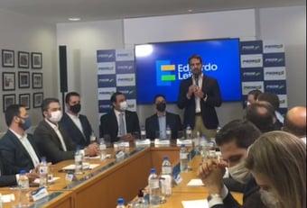 """IMAGEM: Eduardo Leite: """"Não sou candidato a mito ou a salvador da pátria"""""""