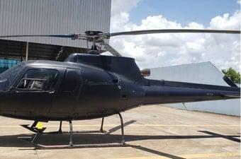 IMAGEM: Helicóptero da polícia do Rio é apreendido por suspeita de uso em garimpo