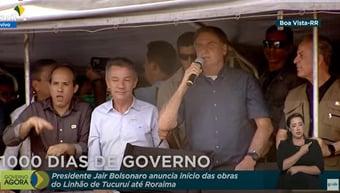 """IMAGEM: Bolsonaro: """"Não podemos seguir o caminho da nossa querida Venezuela"""""""