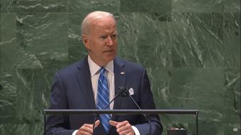 IMAGEM: Biden diz que pedirá ao Congresso para dobrar fundo de mudanças climáticas