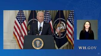 IMAGEM: Biden anuncia 3ª dose da Pfizer para 60 milhões de americanos