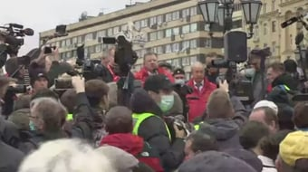 IMAGEM: Partido Comunista da Rússia denuncia fraude em voto pela internet