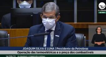 IMAGEM: Presidente da Petrobras tenta explicar preço dos combustíveis na Câmara