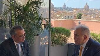 IMAGEM: Queiroga diz que chefe da OMS sugeriu a ele tirar a máscara em Roma