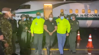 IMAGEM: Maior traficante da Colômbia será extraditado para os EUA