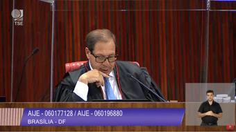 IMAGEM: 1 x 0 – Relator vota no TSE contra cassação da chapa Bolsonaro-Mourão