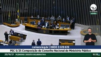 """IMAGEM: """"Câmara dos Deputados foi sensível ao apelo da população contra a PEC"""""""