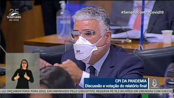 IMAGEM: Girão suaviza Bolsonaro e pede que PGR investigue possível prevaricação da CPI