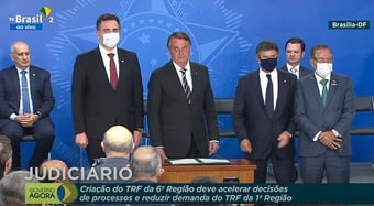 IMAGEM: Bolsonaro afaga o Judiciário após leitura de relatório da CPI