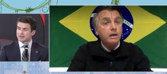 IMAGEM: Bolsonaro não aguenta perguntas difíceis. Vai fugir dos debates em 2022?