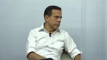 IMAGEM: Doria nega que queira 'voto impresso e auditável já' nas prévias do PSDB