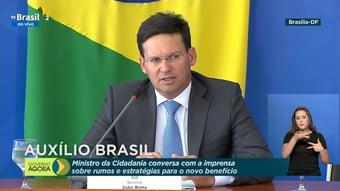 IMAGEM: Sem dizer de onde sairá o dinheiro, ministro confirma Auxílio Brasil a partir de novembro
