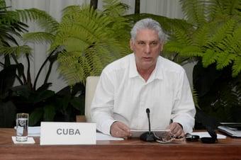 IMAGEM: Ditador cubano estimula violência contra manifestações previstas para 15 de novembro