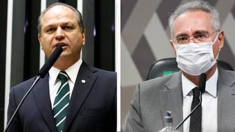"""IMAGEM: Barros provoca Renan: """"Aras vai pegar o relatório dele, meter a caneta e arquivar"""""""