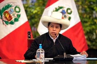 IMAGEM: As consequências da briga entre o partido Peru Livre e o presidente Pedro Castillo