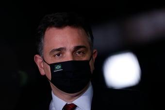 IMAGEM: Pacheco é anunciado como pré-candidato à Presidência pelo PSD