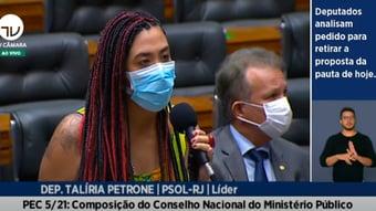 """IMAGEM: Líder do PSOL escancara objetivo da PEC da Vingança: """"Não queremos mais Moros e Dallagnois""""; assista"""