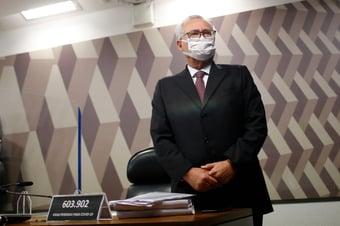 IMAGEM: CPI descortinou um esquema de corrupção nunca visto dentro da Saúde, diz Renan