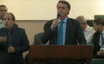 """IMAGEM: Bolsonaro defende cloroquina e chama membros da CPI de """"três patetas"""""""