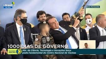 IMAGEM: Comitê da ONU pede que Bolsonaro seja punido por uso de criança fardada em evento