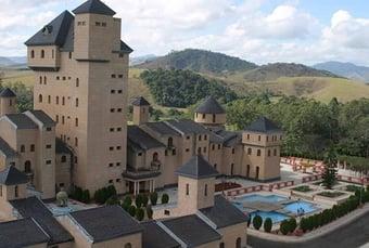 IMAGEM: Castelo construído por ex-deputado vai a leilão com lance mínimo de R$ 30 milhões