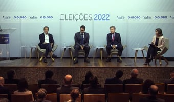 """IMAGEM: Leite, em indireta para Doria: """"Eu não fui atrás do Bolsonaro para tirar foto"""""""