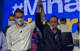 """IMAGEM: Prefeito mineiro desiste de apoio a Doria e diz que Leite é """"melhor opção"""""""