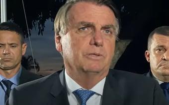 """IMAGEM: """"Não perdi aquela briga"""", diz Bolsonaro, sobre voto impresso"""