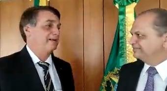 """IMAGEM: Para Bolsonaro, Maringá, terra de Ricardo Barros, virou """"estado"""""""