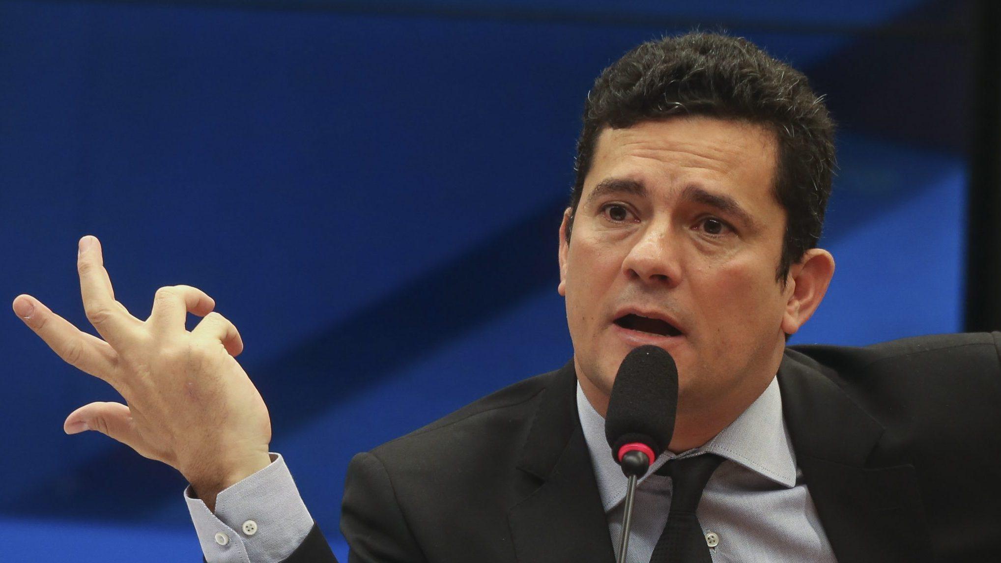 IMAGEM: Em audiência com Gilmar, Moro diz que acordo permite Justiça acessar dados de provedor no exterior