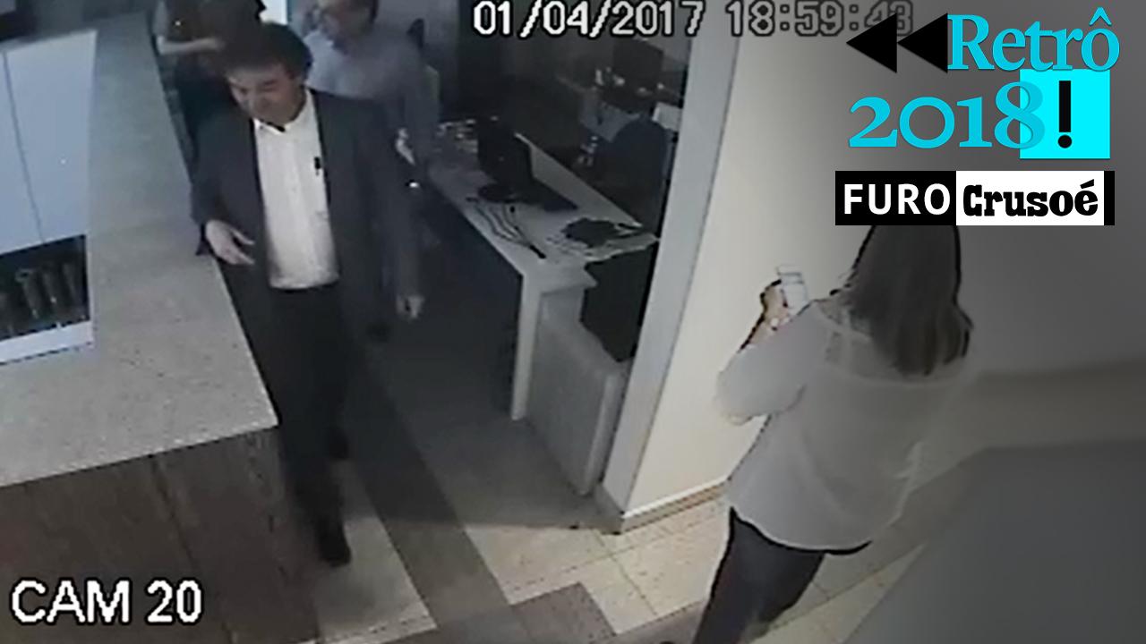 IMAGEM: Uma mulher-bomba perto de Gilmar Mendes