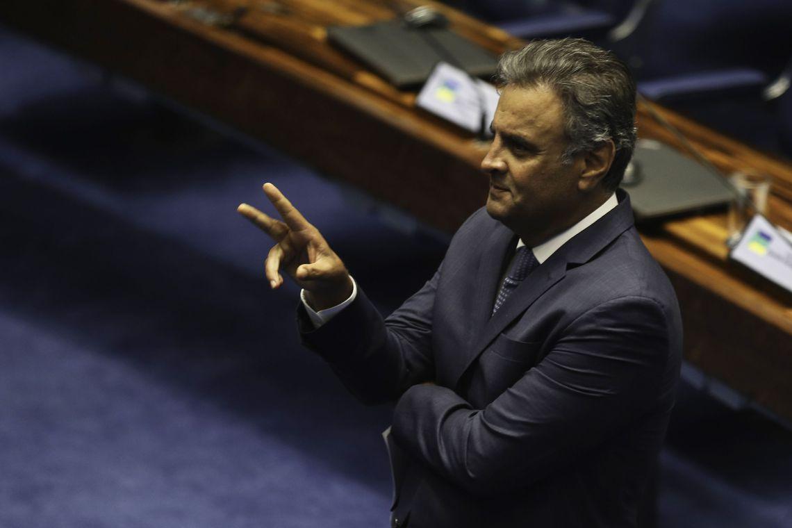 IMAGEM: Aécio é personagem oculto de depoimento de Cabral