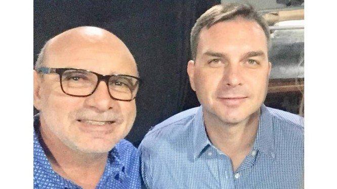 IMAGEM: Justiça libera investigação sobre Flávio Bolsonaro