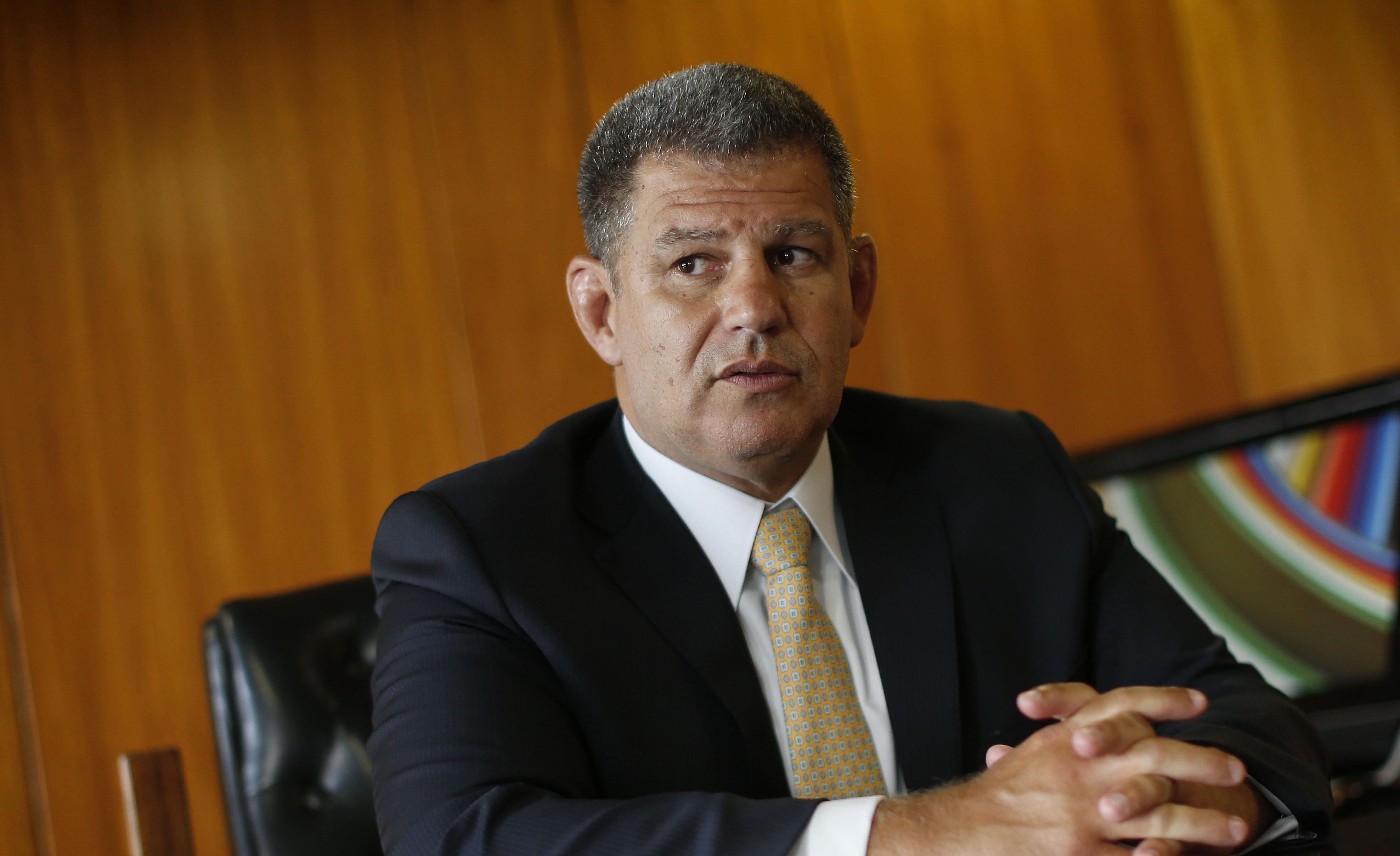 IMAGEM: Bebianno diz que não entende ataques por reunião com diretor da Globo