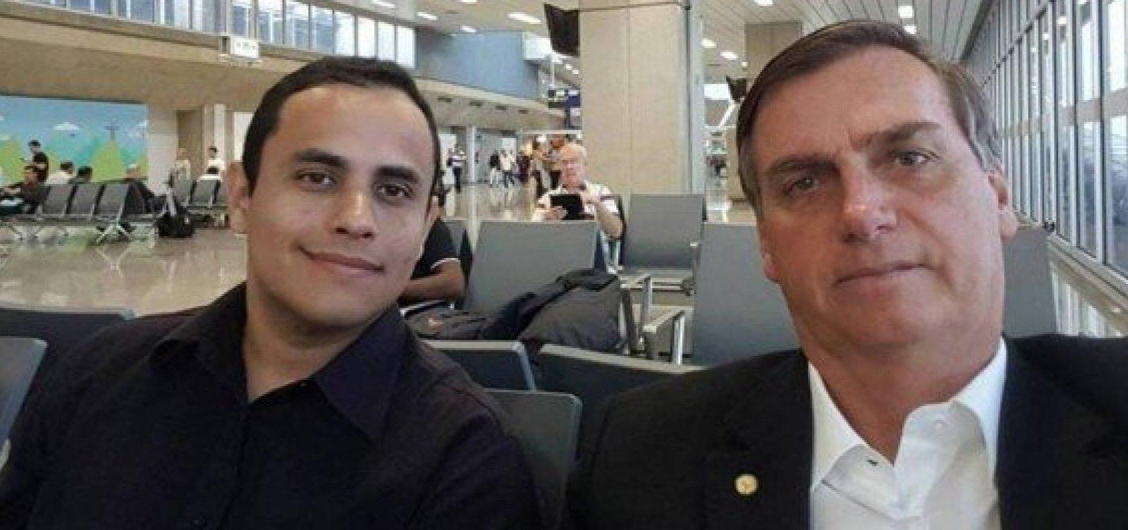 IMAGEM: Assessor de Bolsonaro é banido do Facebook
