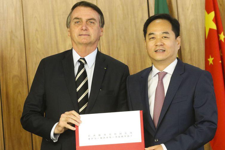IMAGEM: Embaixador chinês cobra nota oficial do Brasil sobre mensagem de Weintraub