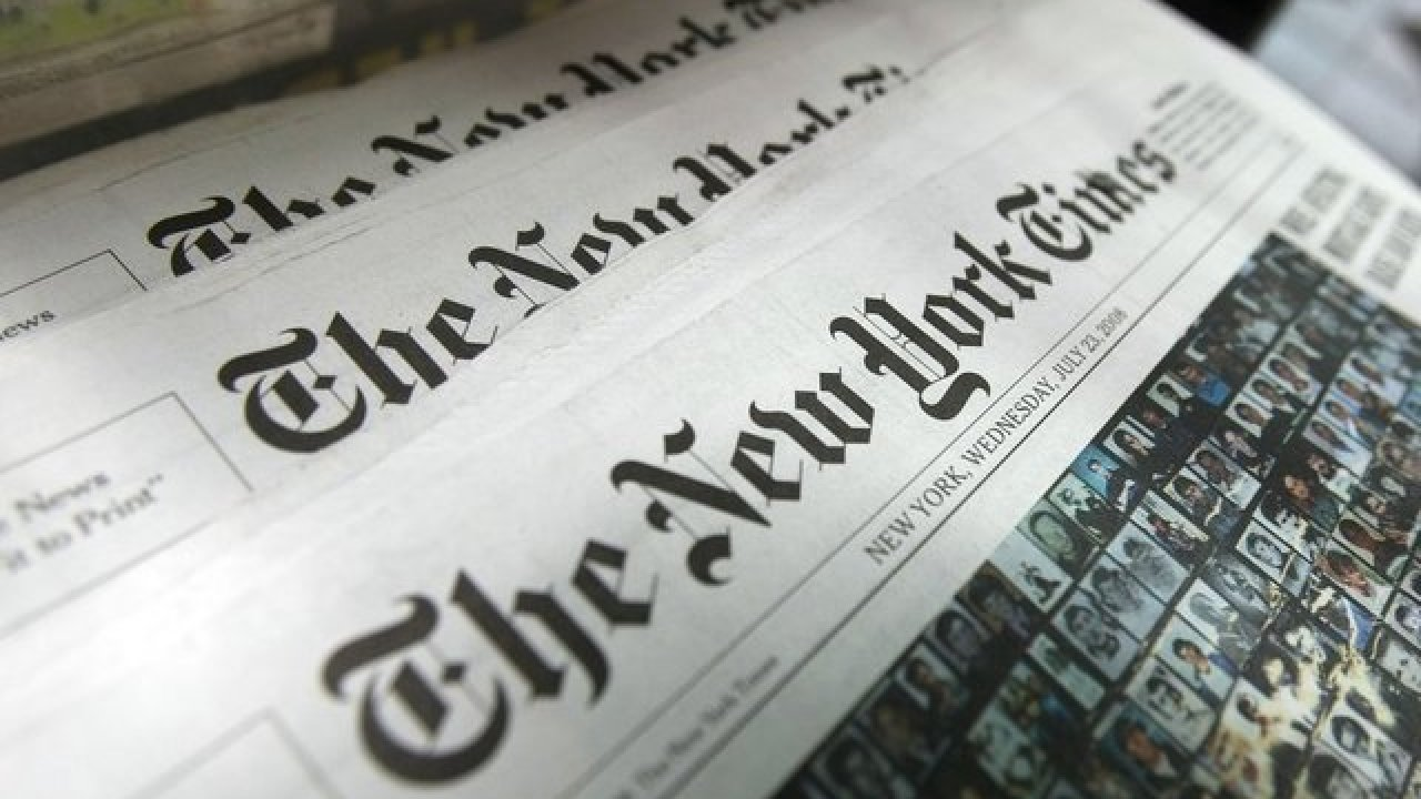 IMAGEM: Governo Trump teve acesso secreto a registros telefônicos de repórteres do NYT