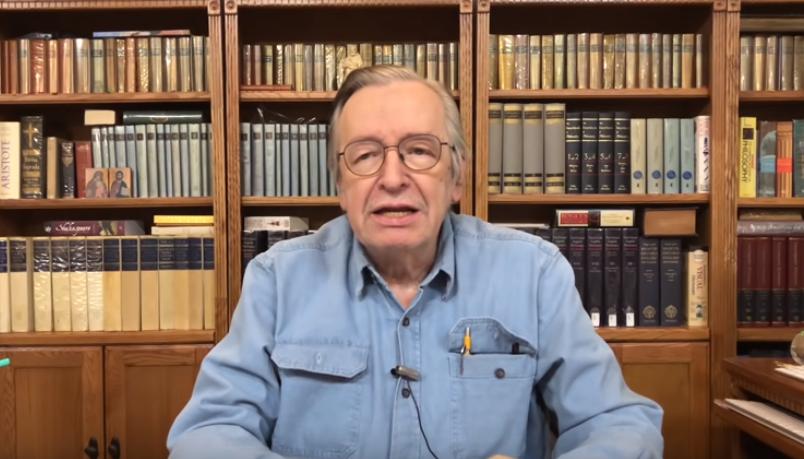 IMAGEM: Olavo defende que Eduardo Bolsonaro não vá para Washington