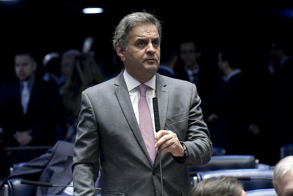 IMAGEM: Gilmar arquiva investigação sobre Aécio por suposta corrupção em Furnas