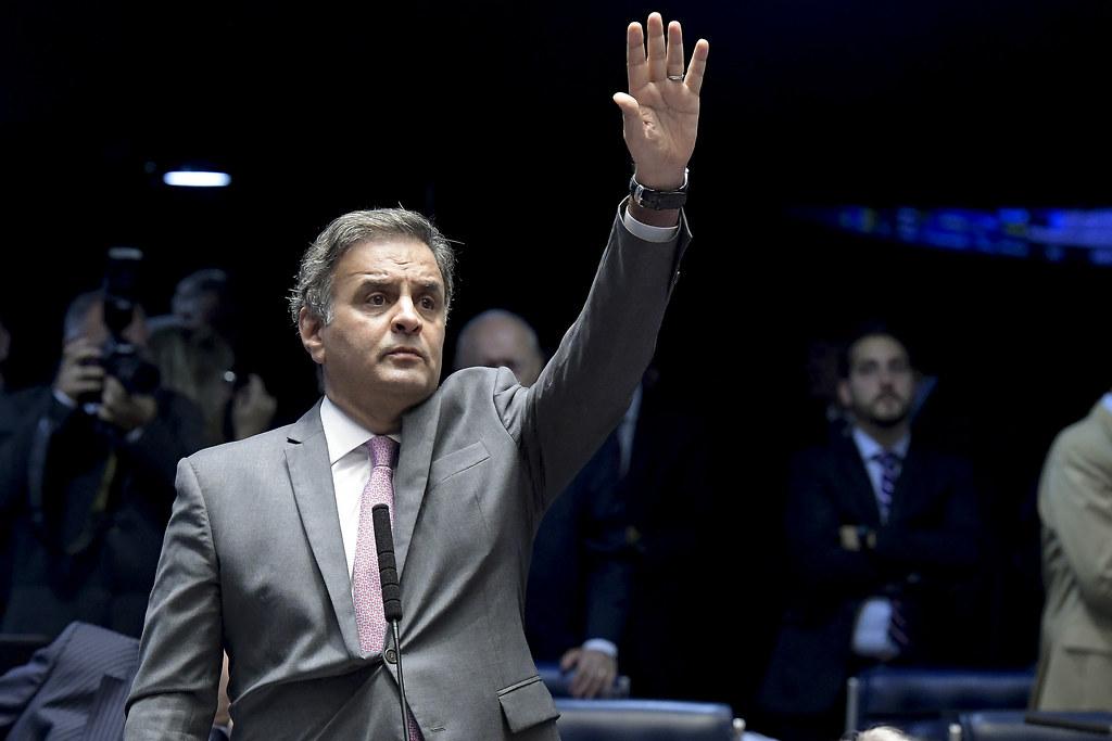 IMAGEM: PSDB indica Aécio Neves para comandar Comissão de Relações Exteriores da Câmara