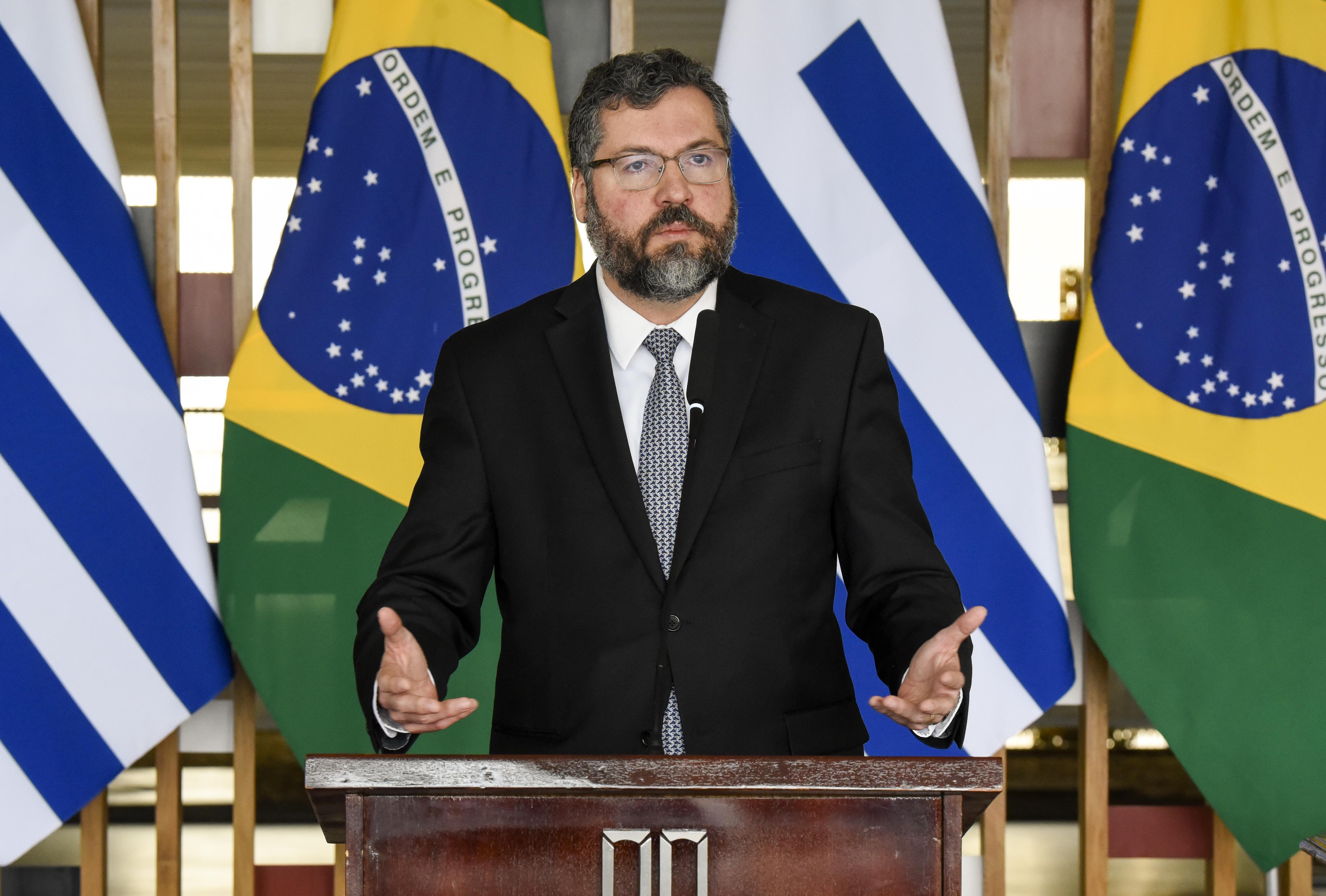 """IMAGEM: Ernesto Araújo: """"O Mercosul subiu nas prioridades de todo o mundo"""""""