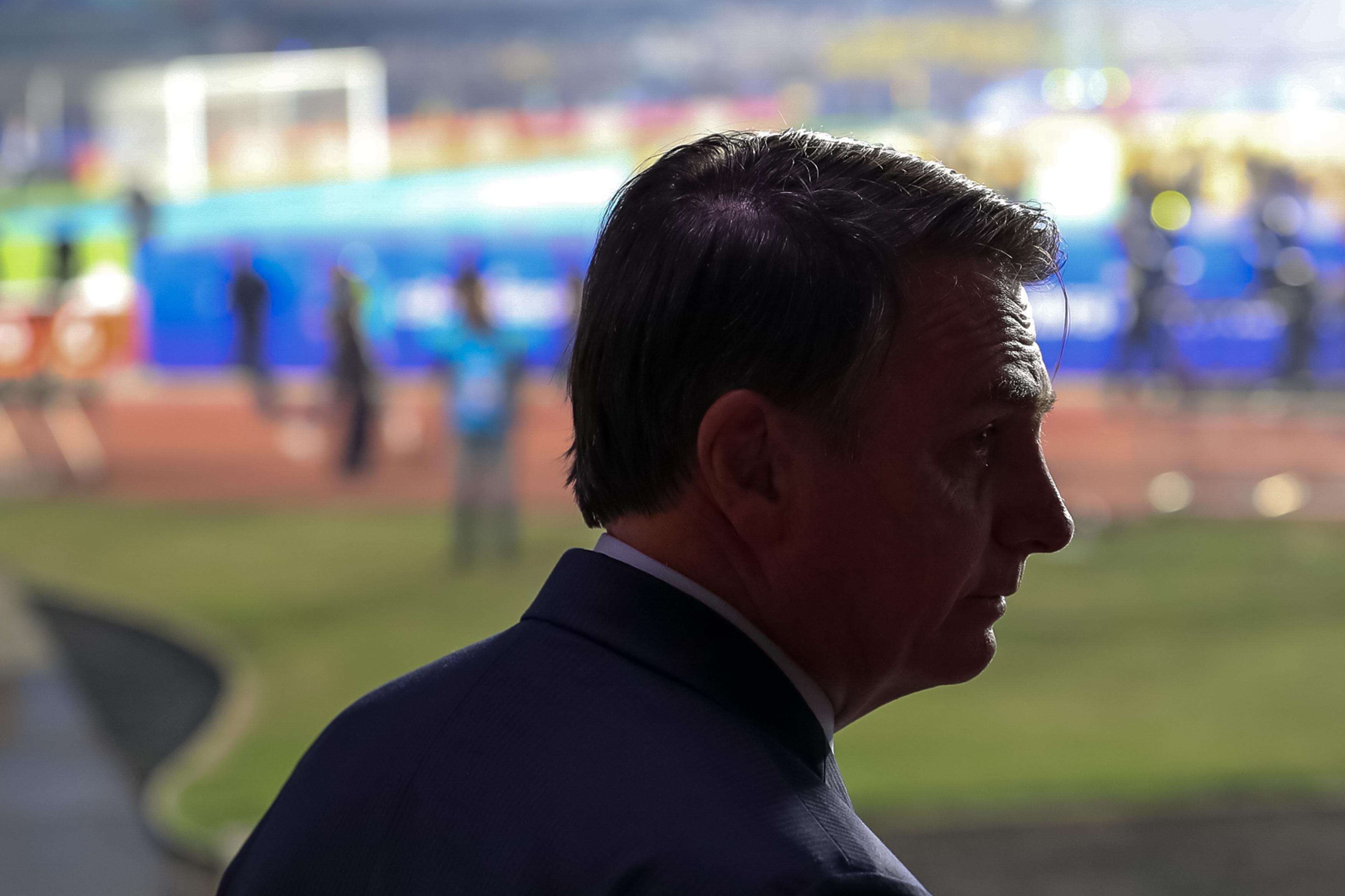 """IMAGEM: Bolsonaro: """"Teve milhões de mensagens a favor da minha campanha, e talvez alguns milhões contra"""""""