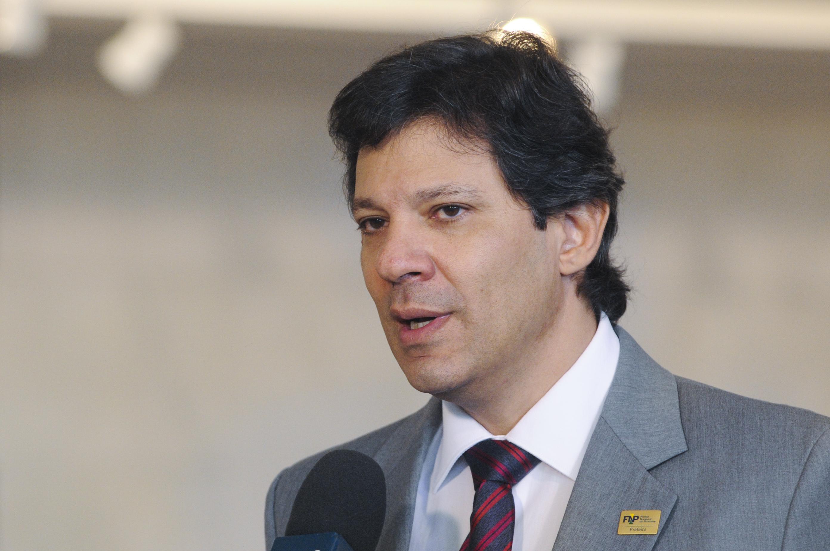 IMAGEM: Haddad critica condenação por caixa dois