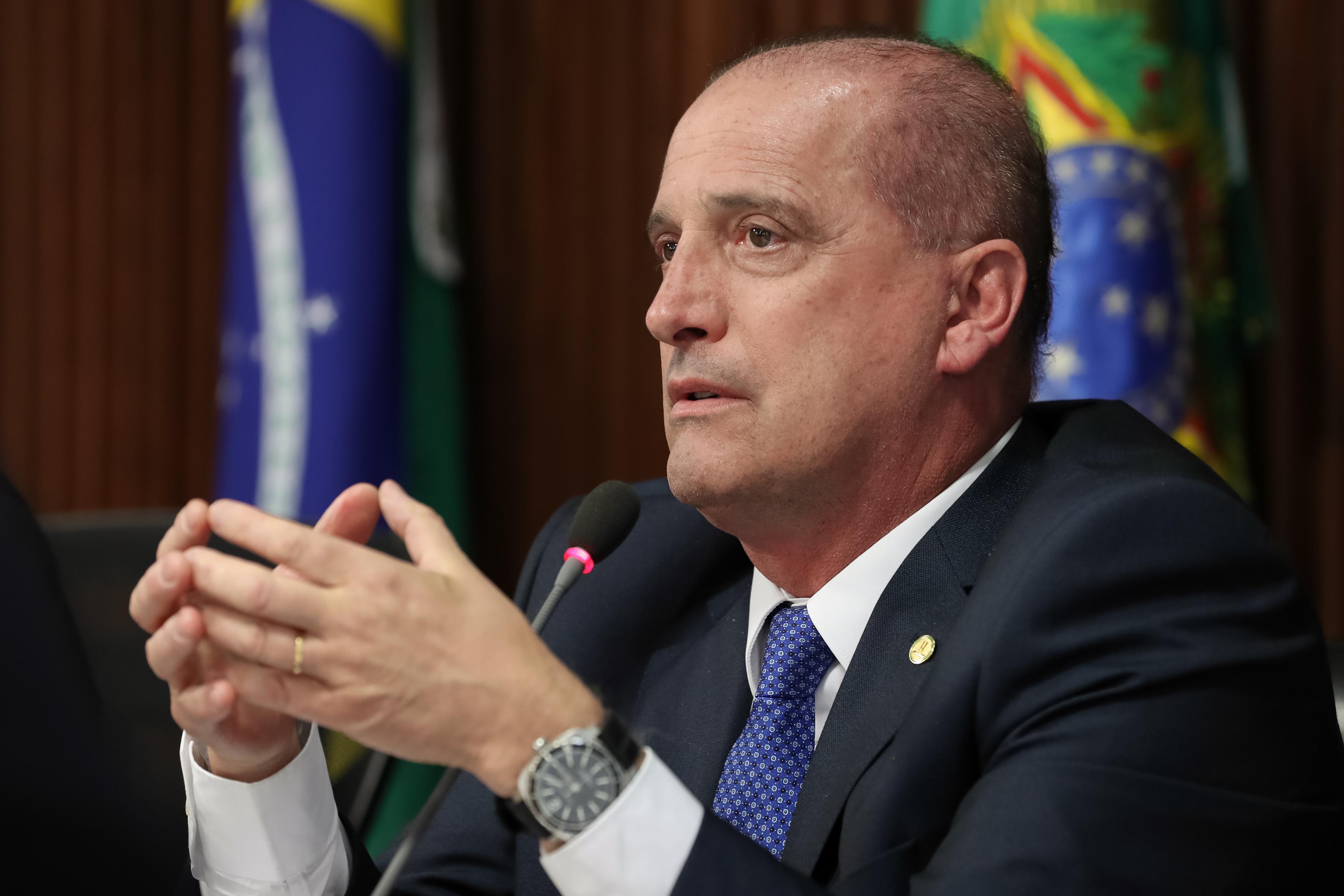 IMAGEM: Governo vai enviar PEC da capitalização nas próximas semanas, diz Onyx